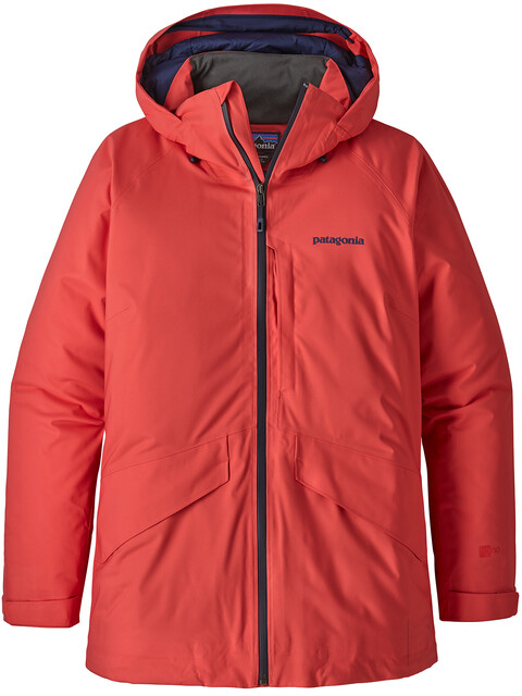 Patagonia W's Insulated Snowbelle Jacket Tomato